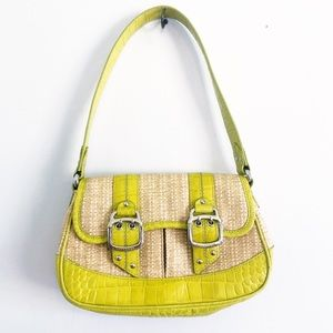 Women's Handbag Lime Green Cole Haan Purse